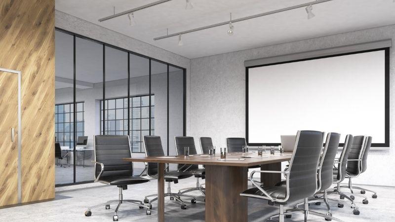 Agencement de salle de réunion à Niort